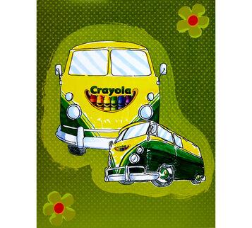 Crayola Wagon Poster 22x28