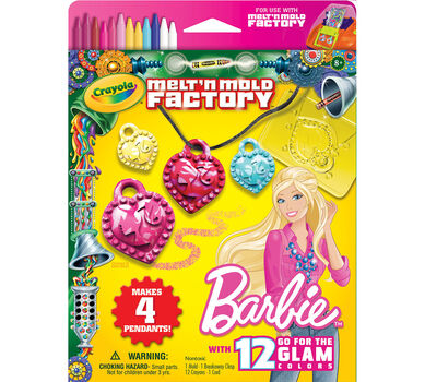 Melt 'n Mold Factory Barbie Expansion Pack