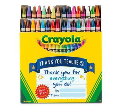 Crayola Thank a Teacher 64 Ct Crayons