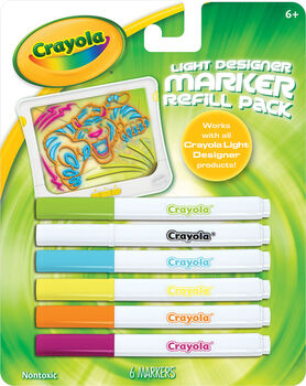 Light Designer Marker Refill Pack Crayola