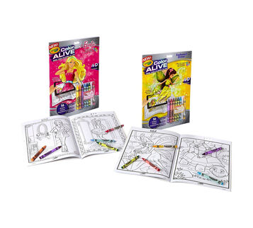 Color Alive Combo Pack