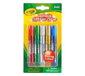 Bold Washable Glitter Glue 5 ct.