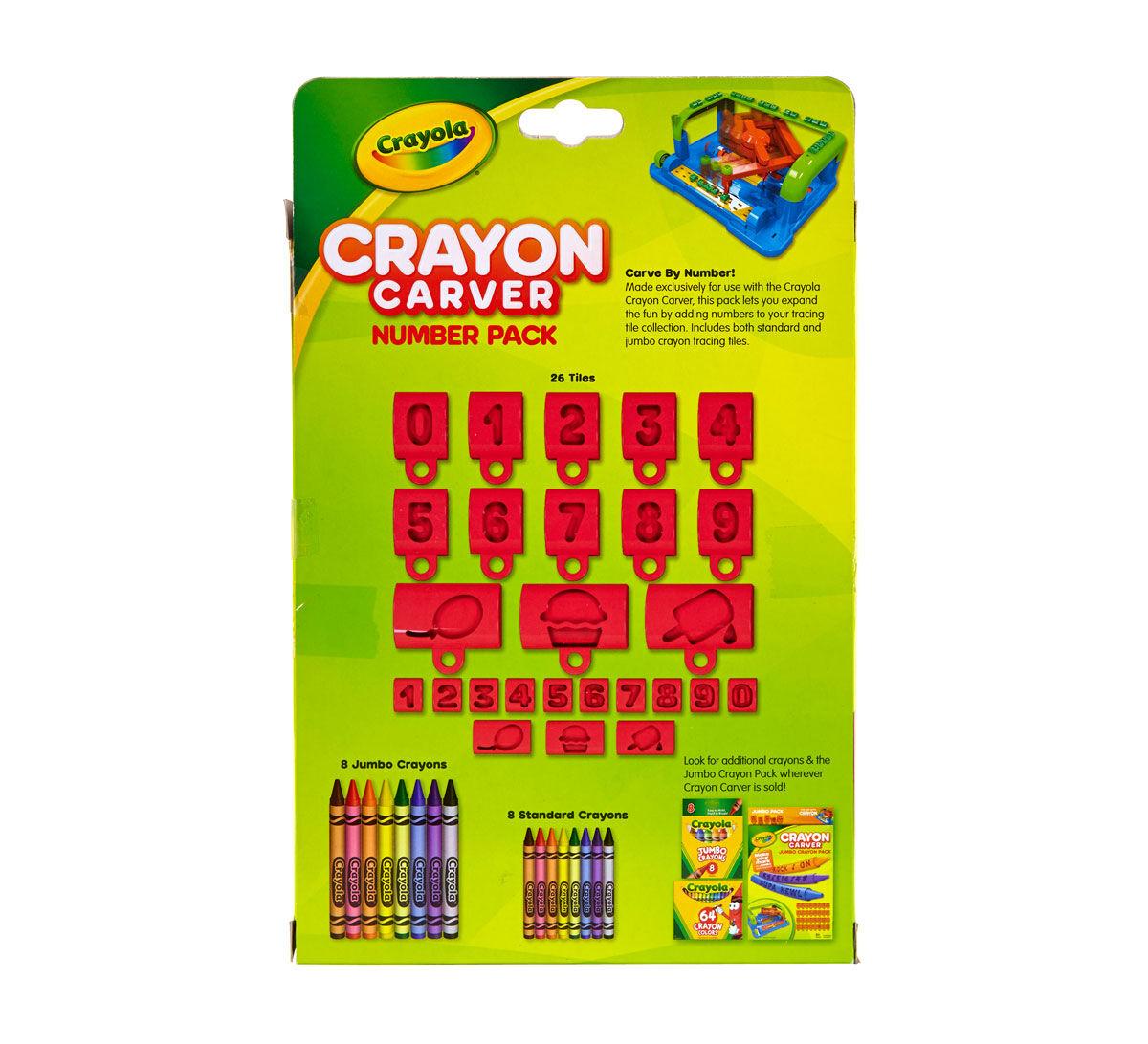 Crayon Carver Number Expansion Pack - Crayola