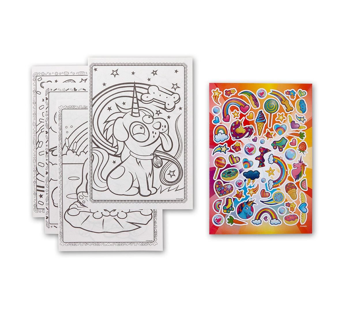 Uni-Creatures Coloring Book & Sticker Sheet