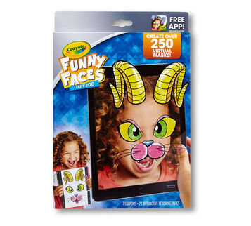 Funny Faces Zany Zoo front cover