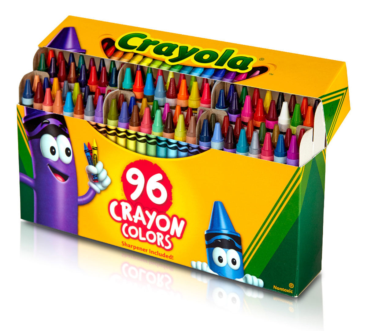 Image result for 96 crayola crayons in rainbow order