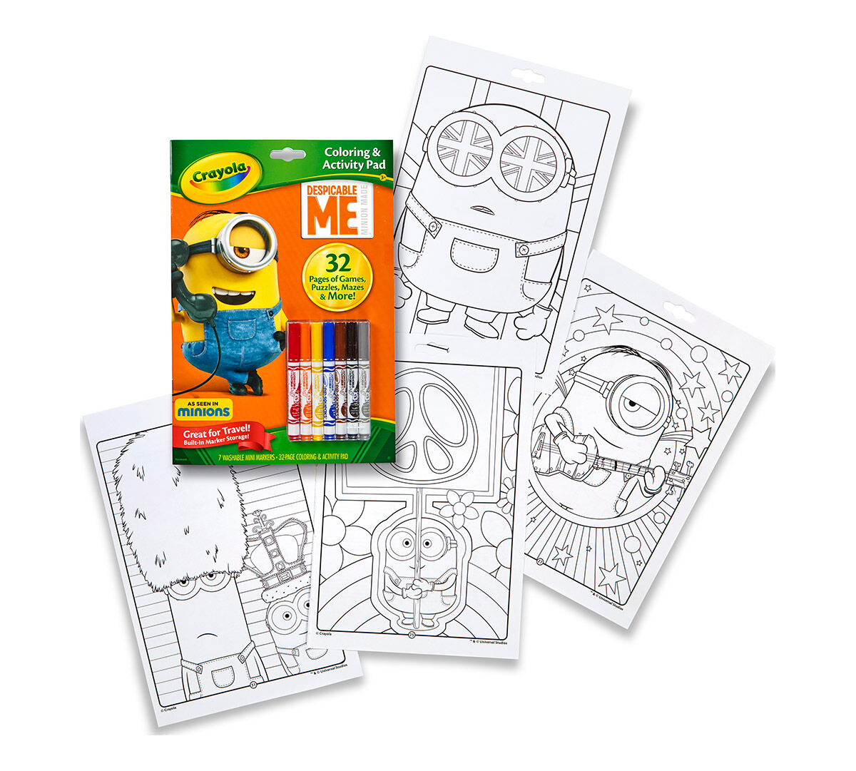 25 Despicable Me 3 Click The Minion From Despicable Me 3 Coloring Pages To View Printable