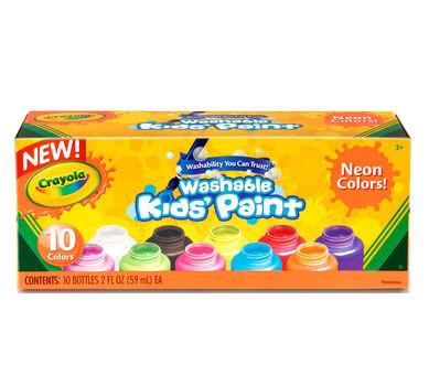 Washable Kids' Neon Paint, 10 ct.