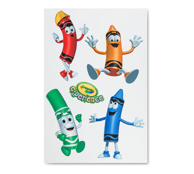 "Crayola 9"" Construction Boy Wall Decal"
