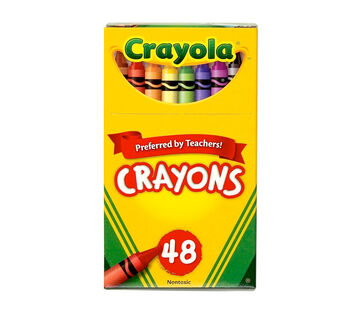 48 count Crayon box