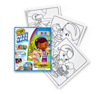 color wonder coloring pad doc mcstuffins - Color Wonder Coloring Books