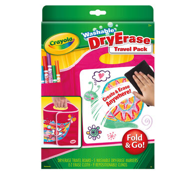 Fold & Go Dry Erase Travel Pack
