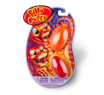 Silly Putty 2ct Variety Pack - Orange/Red