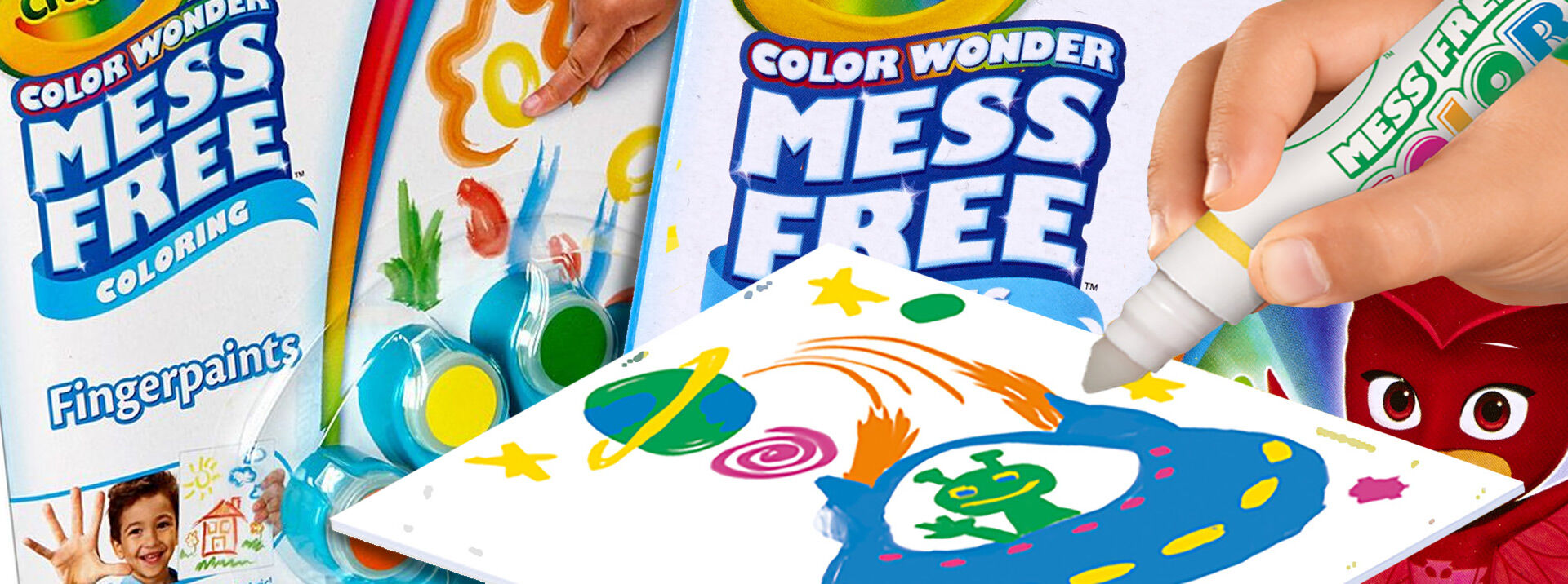 mess free coloring - Color Wonder Coloring Books