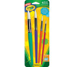4 ct. Round Brush Set