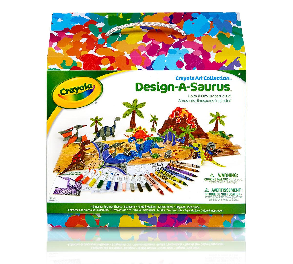 Design A Saurus Crayola