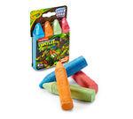 4 ct. Teenage Mutant Ninja Turtles Washable Sidewalk Chalk - Color Your Heroes!