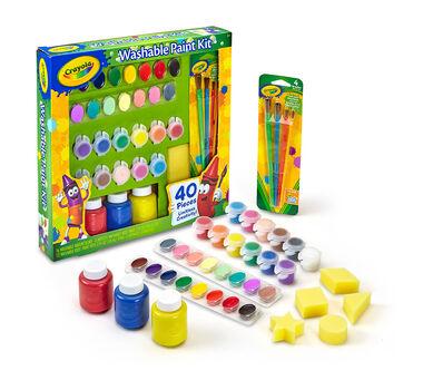 Washable paint kit crayola washable paint kit sciox Gallery