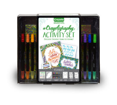 Signature Series Crayoligraphy Activity Set