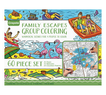 family escapes gift set whimsical destinations