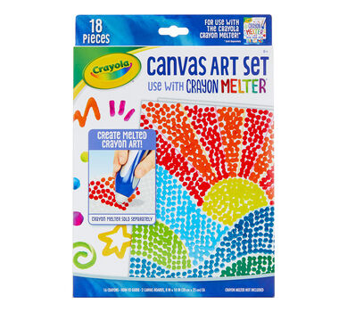 Canvas Art Set for use with Crayon Melter