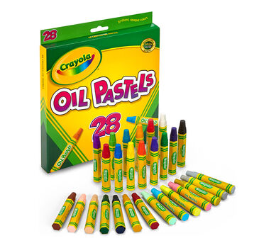 Oil Pastels 28 Ct Crayola