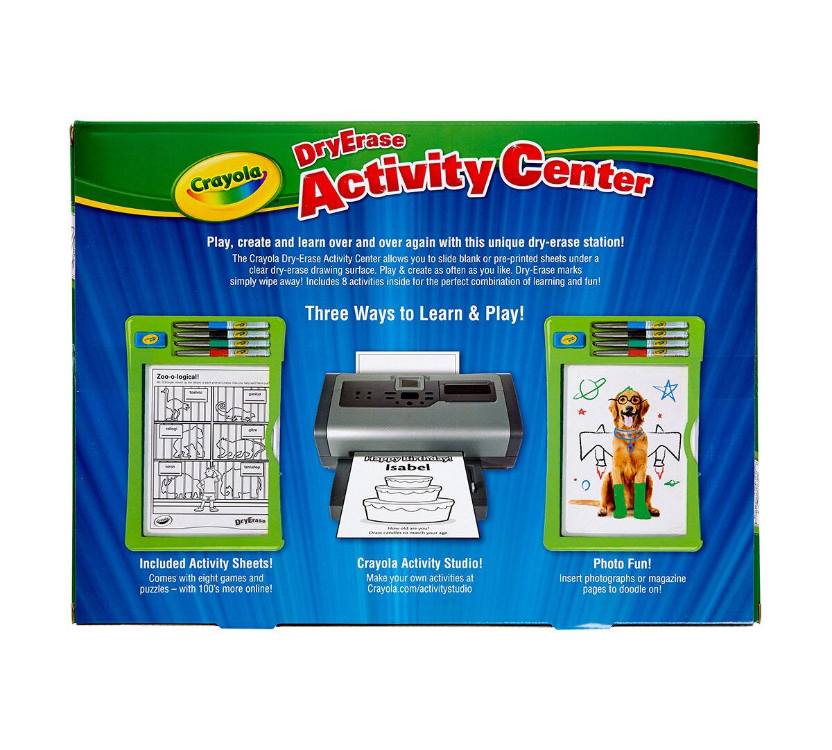 dry erase activity center - Crayola Online Drawing