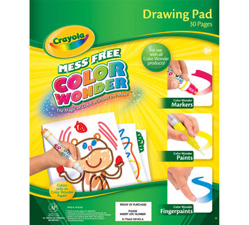 Color Wonder Refill Drawing Pad