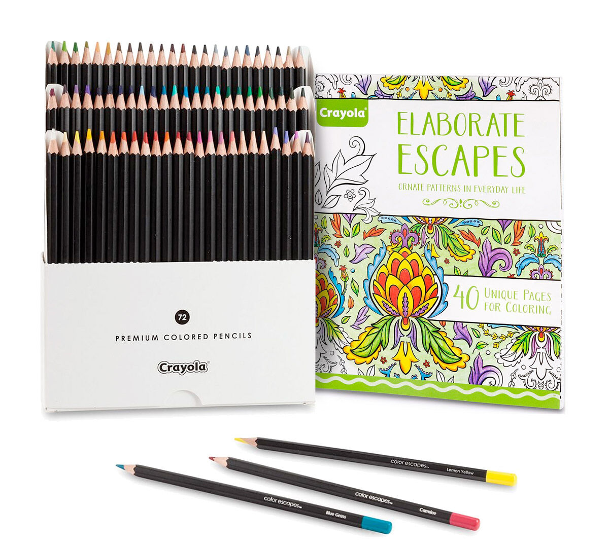 Elaborate Escapes Coloring Book Bundle