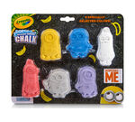 6 ct. Washable Chalk Shapes, Despicable Me