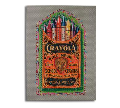 Crayola Crayon Box Dots Poster 22x28