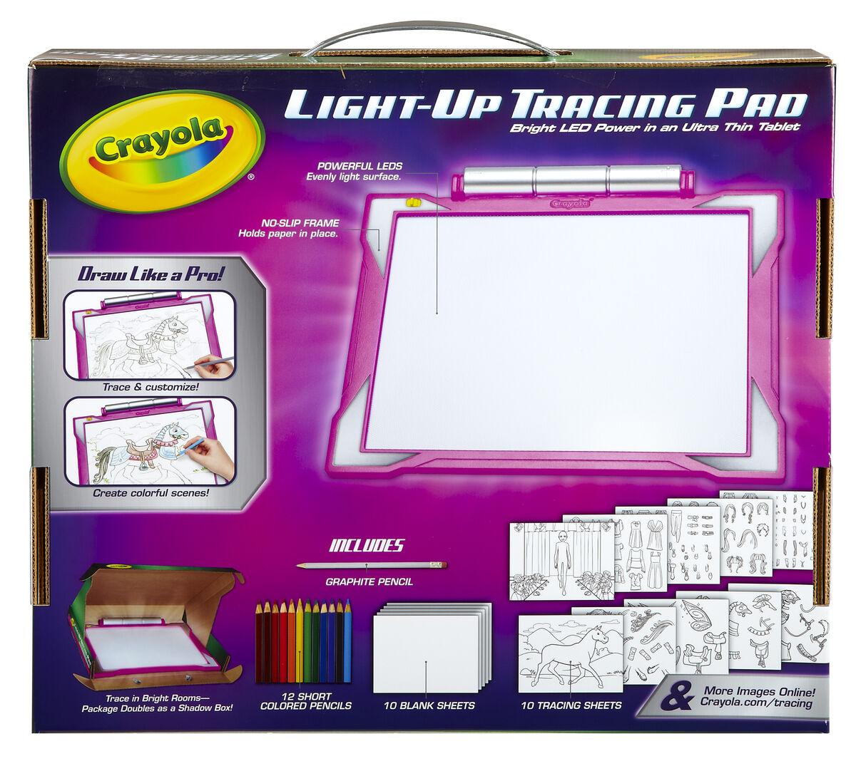 Light Up Tracing Pad Pink Crayola