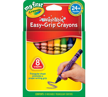 My First Easy Grip Crayons 8 ct.