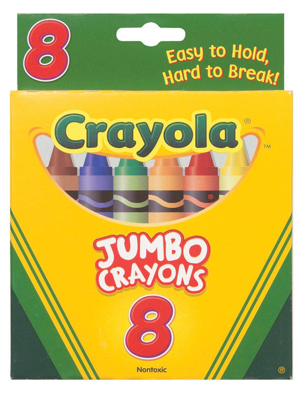 Crayola Jumbo Crayons 8 Ct