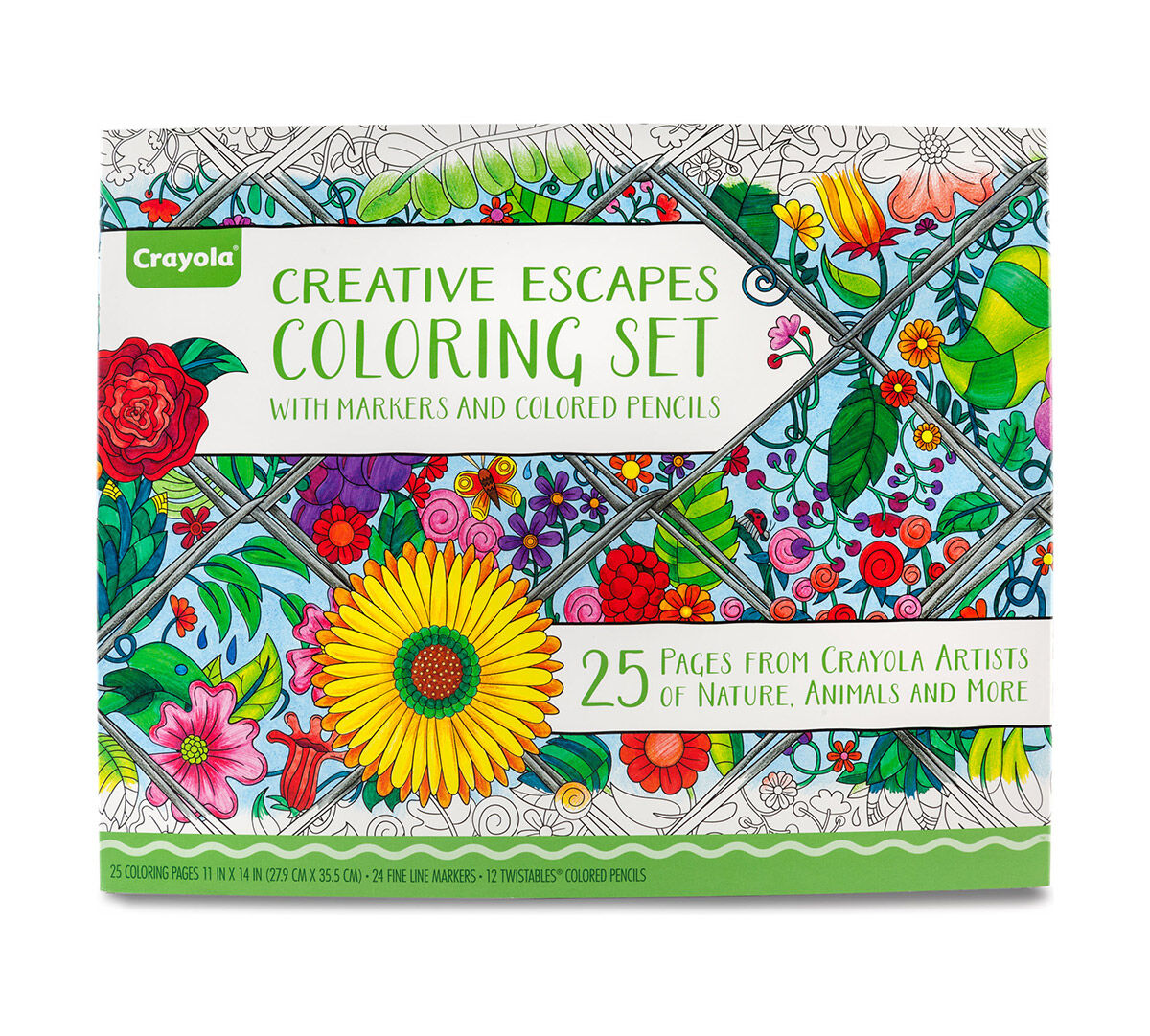Creative Escapes Coloring Set- Large Gift Set - Crayola