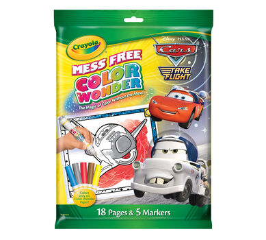 Color Wonder Coloring Pad & Markers - Disney/Pixar Cars 2 - Crayola