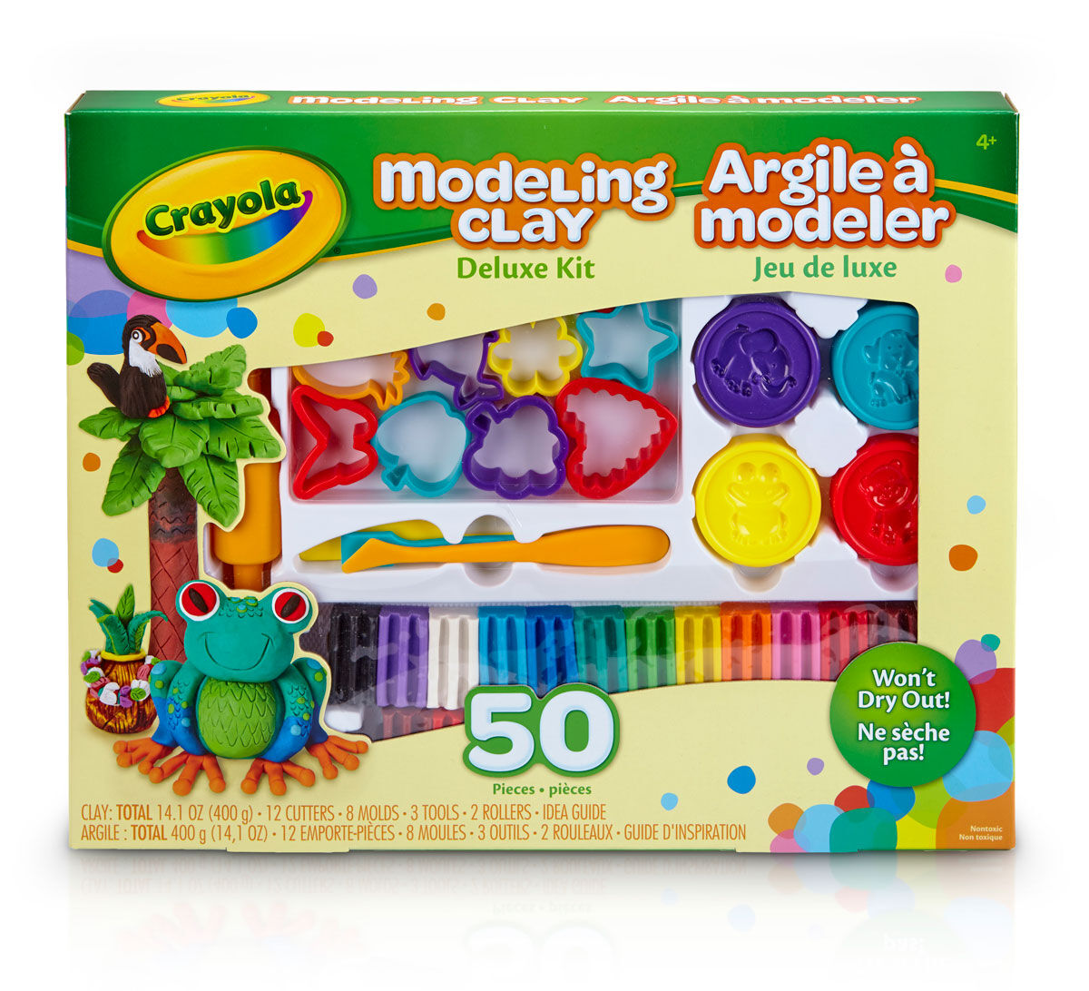How to make clay toys use various shaping tools to - Modeling Clay Deluxe Tool Kit