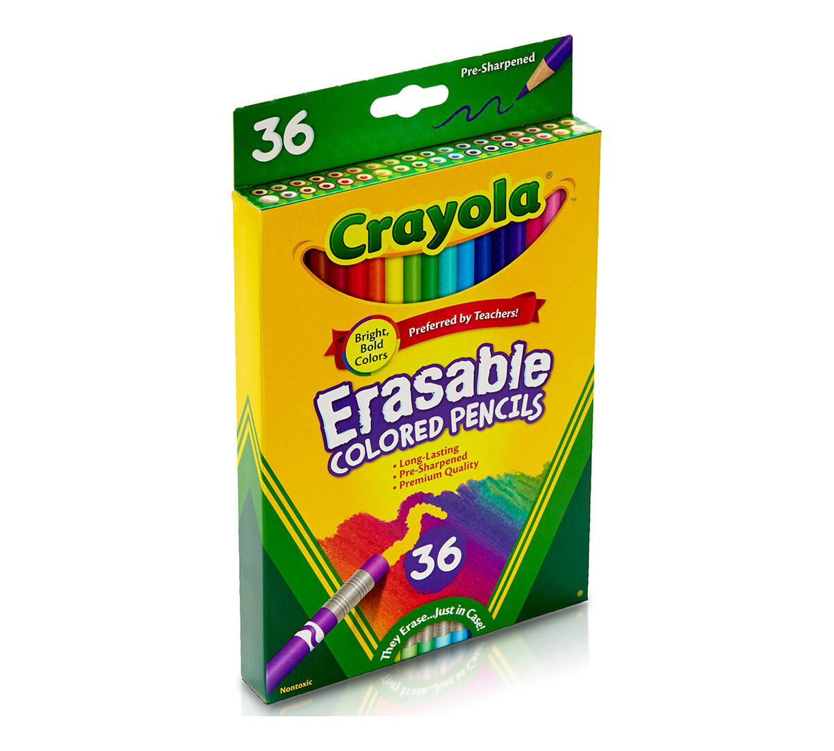 36ct Erasable Colored Pencils Crayola