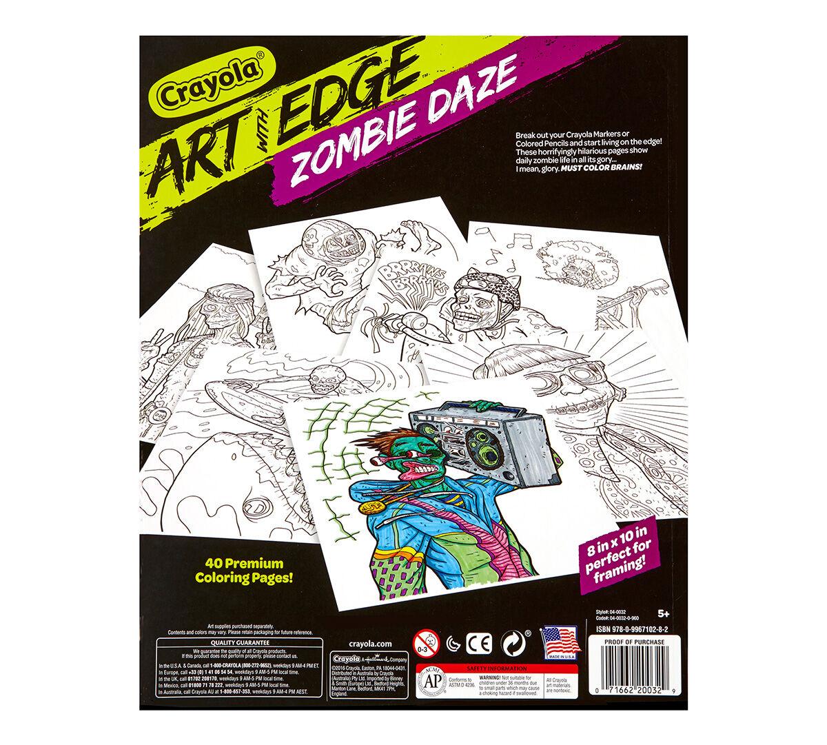 Art with Edge, Zombie Daze - Crayola