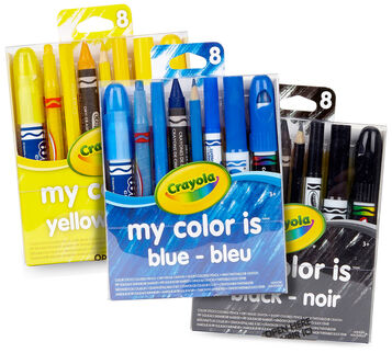 My Favorite Color Yellow, Black, Blue