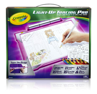 Light Up Tracing Pad - Pink