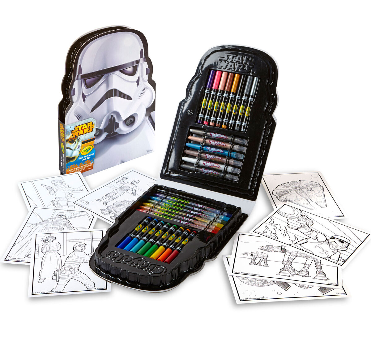 Image result for Crayola Stormtrooper Art Case