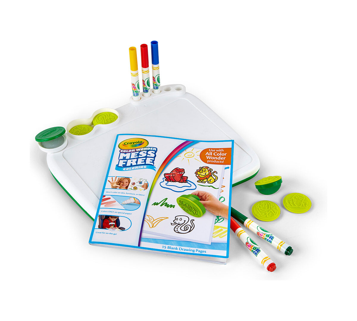 Color Wonder Art Desk with Stamper - Crayola