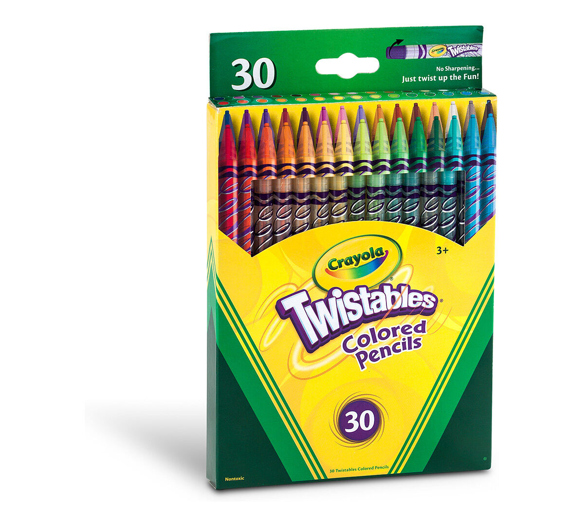Crayola Twistables Colored Pencils, Always Sharp, Art ...