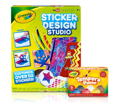 Sticker design studio deluxe kit