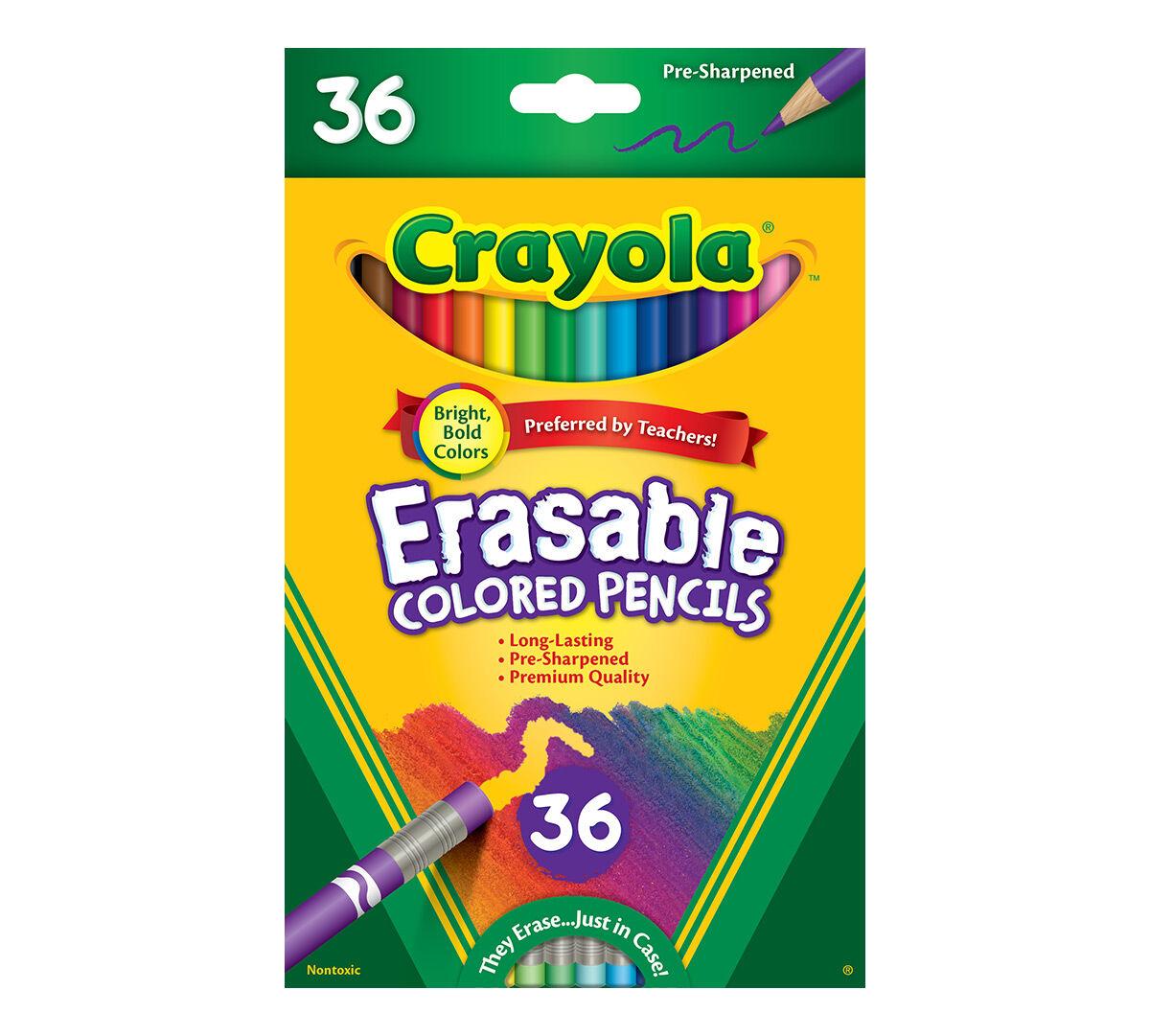 36ct erasable colored pencils - Crayola Colored Pencils Twistables