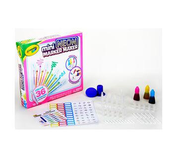 Mini Neon Marker Maker Box and contents