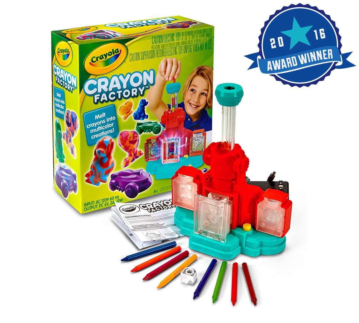 Toys For 6 : Crayon factory crayola
