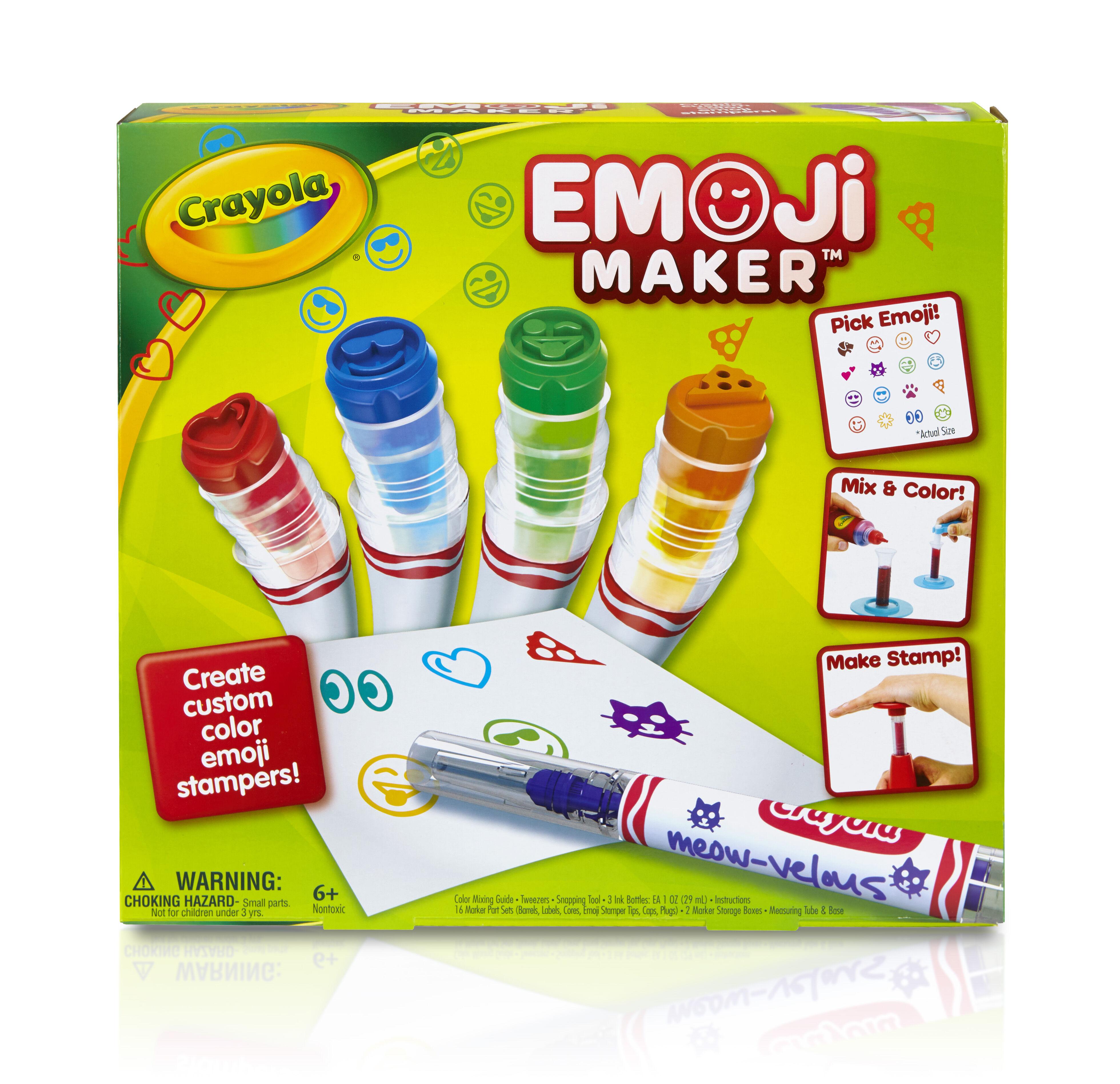 Emoji Marker Maker - Crayola