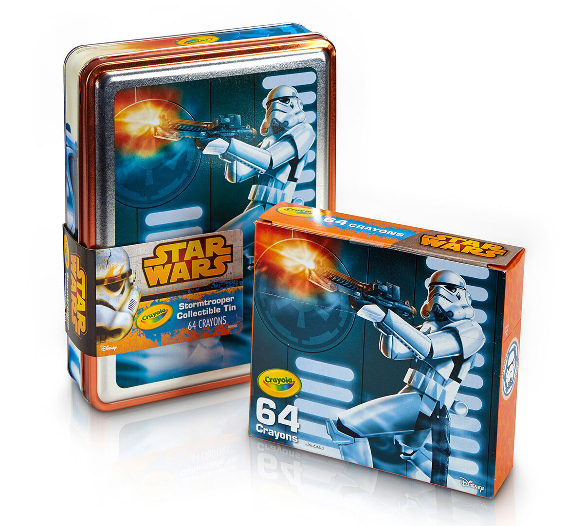 Star Wars, Stormtrooper Tin and Crayon Box